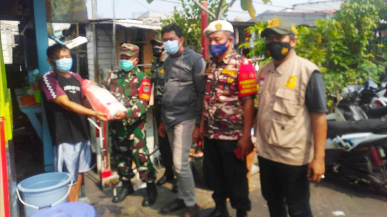 Babinsa Koramil dan Mitra TNI