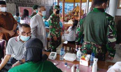 Serbuan vaksinasi di Vihara Darma Budi Bhakti Tangerang